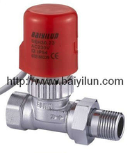 Thermal actuator valve