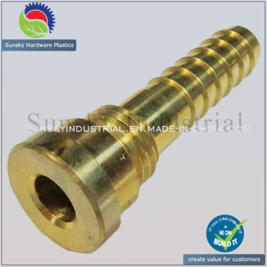 CNC Turning Parts, Hose Fitting for Gun Optic (BR17013)