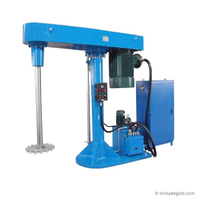 Degold 75kW CE Hydraulic Paints Inks High Speed Disperser