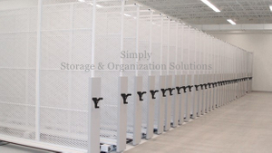 Mobile Storage Panel Systems | Sliding Art Rack Storage