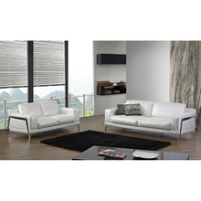 Modern leather sectional sofa couches