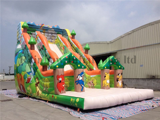RB6019(11.5x6x8m) Inflatable big size animal theme slide