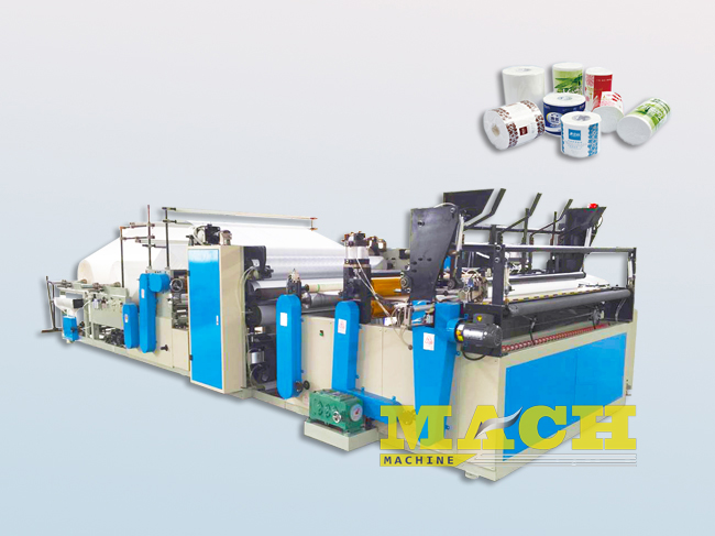 color gluing kitchen towel making machine