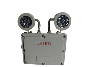 Explosion two head emergency light