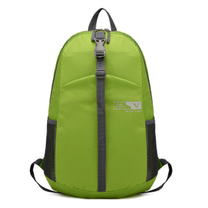 Foldable Backpack Outdoor Travel Nylon Rucksack Green