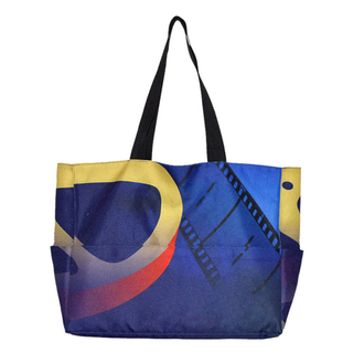 Fashion Customized Business Polyester Tote Bag