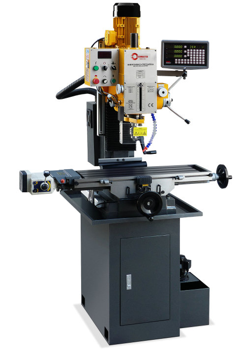 AUTO FEEDING Z AXIS INDUSTRIAL DRILLING AND MILLING MACHINE VARIO SPEED ZAY7040V/1
