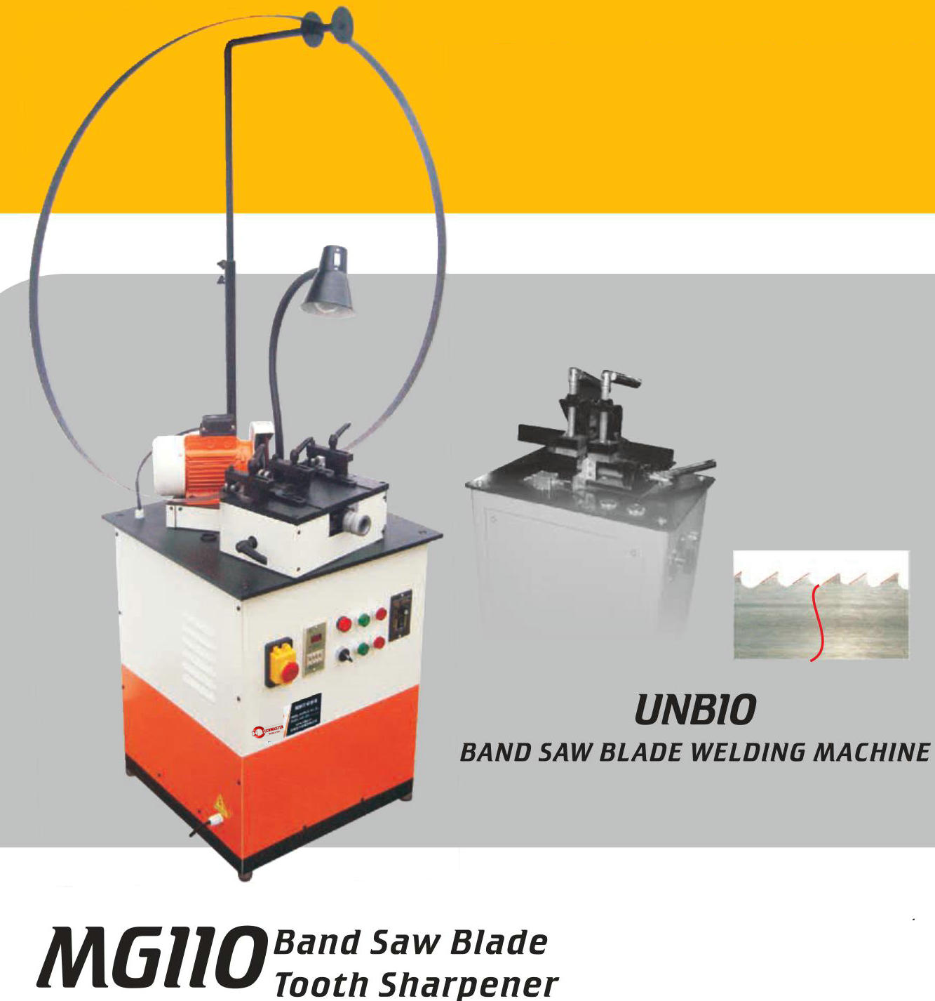 BAND SAW BLADE TOOTH SHARPENER MG110