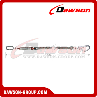 DS6103 Energy Absorbers Lanyards Safety Lanyards EN355 EN354