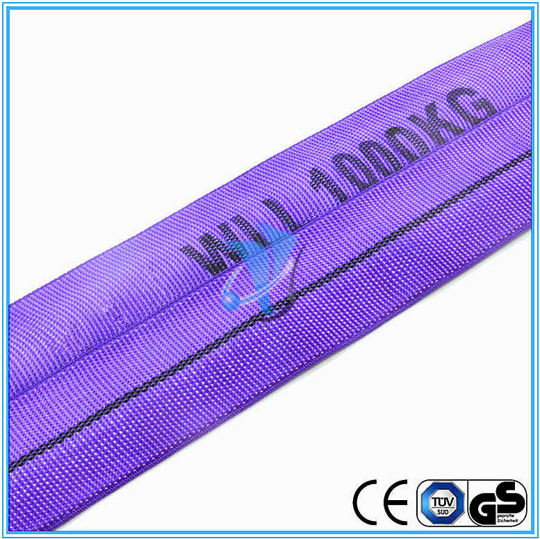 Safety Factor 7:1 1T Polyester Round Sling
