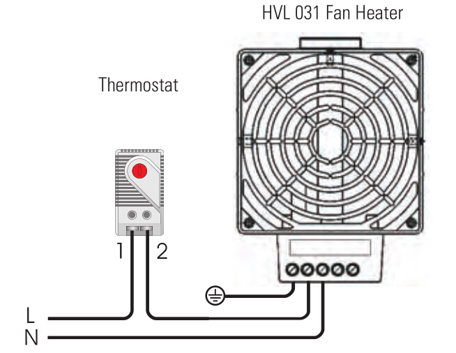 fan heater hv 031 hvl 031