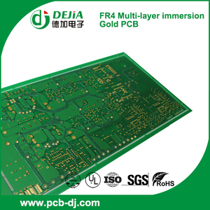 FR4 Multi-layer immersion Gold PCB with peelable mask