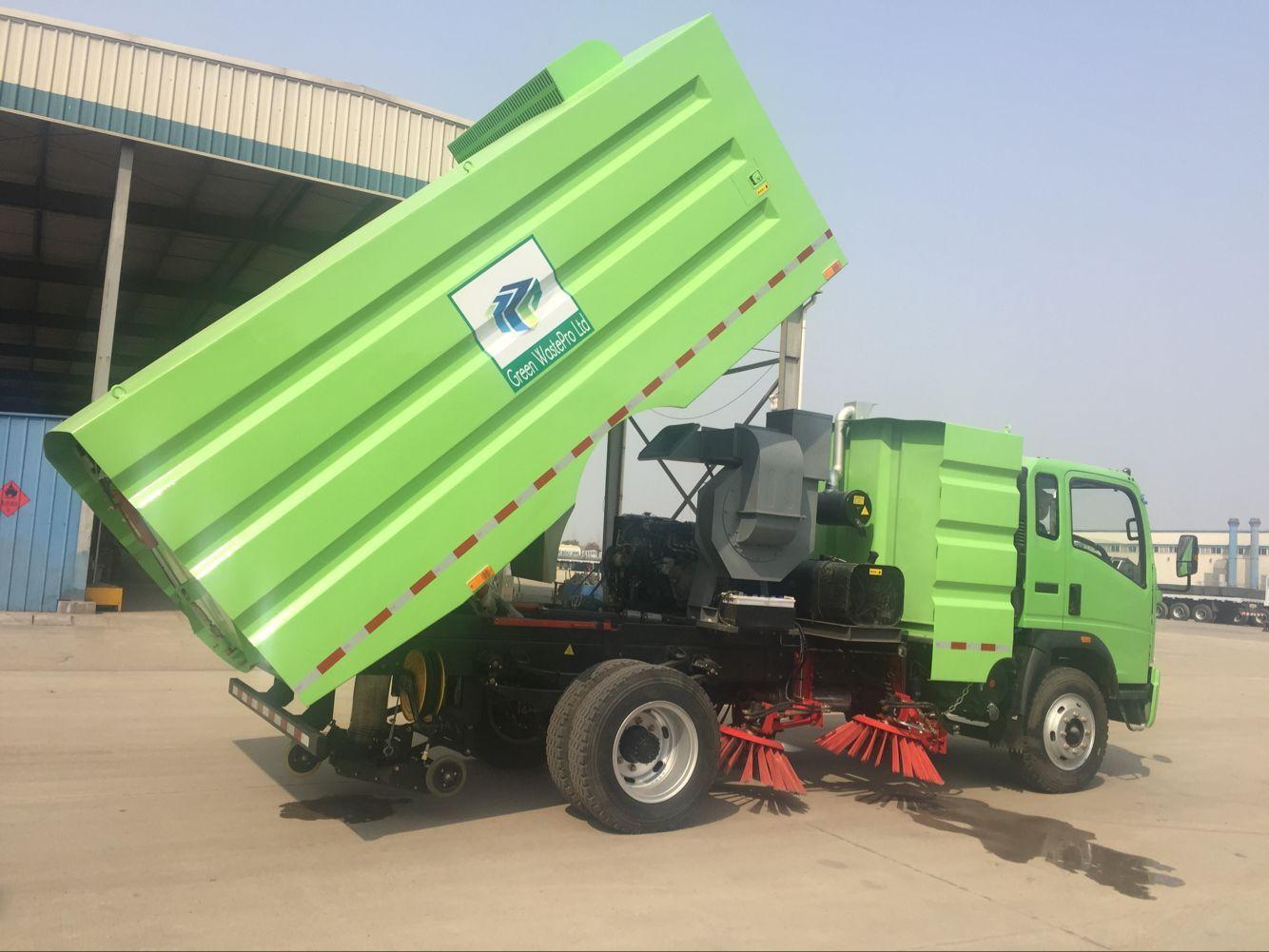SINOTRUK HOWO 4x2 Road Sweeper Truck - Buy road sweeper