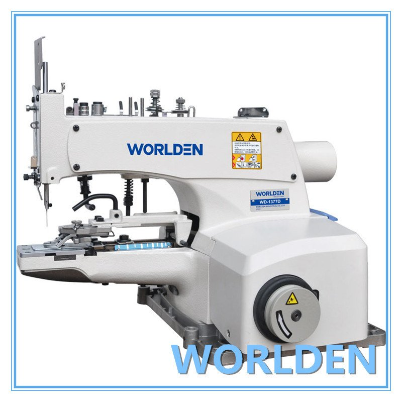 Wd-1377附有行业缝纫机的高速按钮