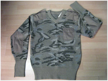 High Quality Army Camo Sweater