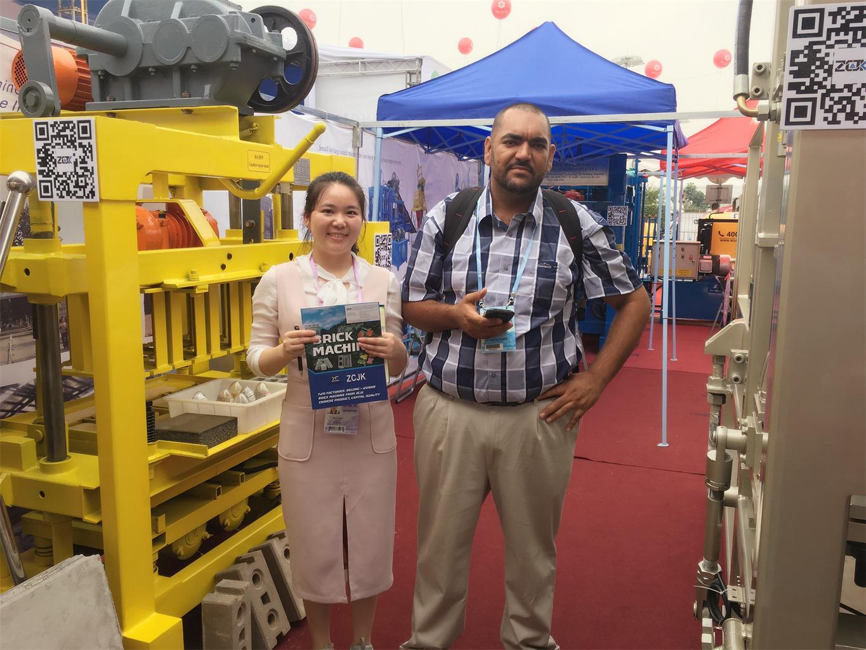 3rd day of Canton Fair-ZCJK Machine booth (8).jpg