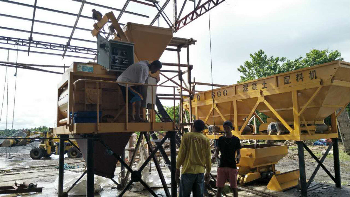 QTY4-15 block machine in Philippines (13)