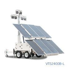 Solar Light Towers For Sale VTS2400B-L