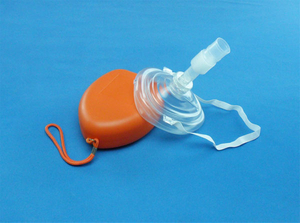 Pocket mask with tube