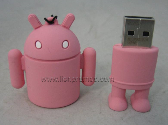 Bank PVC Custom Shape USB Pen Drive