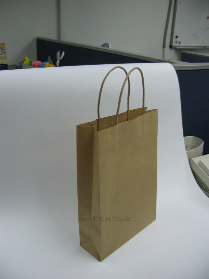 Tailored Kraft Paper Shopping/Packing Bag