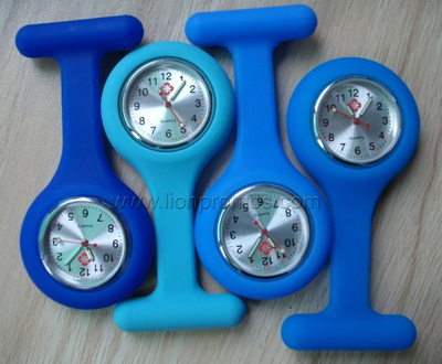 Medical Service Promotioanal Silicone Nurse Watch