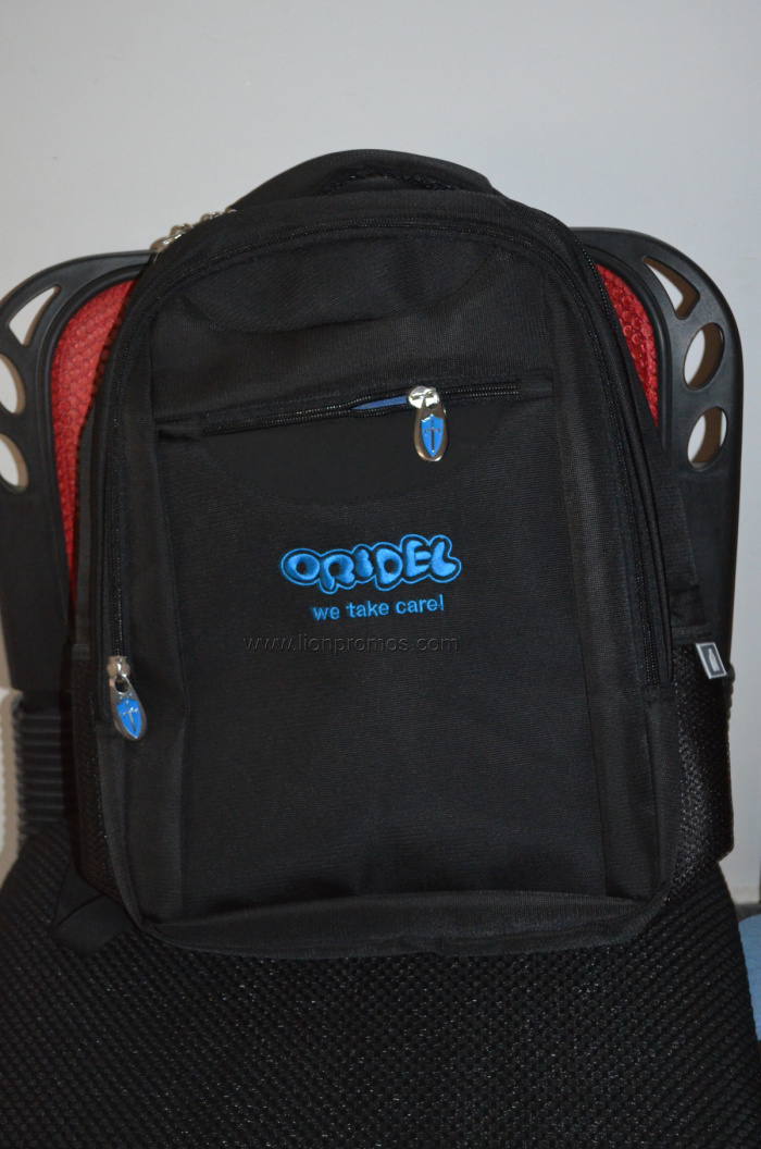 Custom Logo Embrodery Premium Leisure Backpack