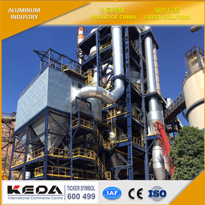 GAS SUSPENSION ALUMINA CALCINER