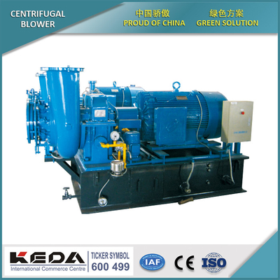 Single-stage high-speed centrifugation blower