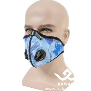 Kawang Cycling Air Pollution Mask Ventilate Mesh Dust Filter N99 Face Mask For Wholesale