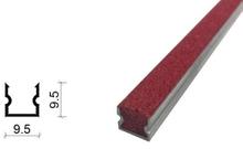 金刚砂地下室防滑坡道防滑条-9.5*9.5 mm
