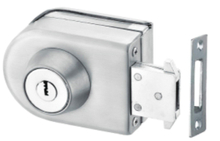 Aluminum steel Glass Door Lock (FS-231)