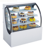 G528FS Bakery Showcase Commercial Refrigerated Showcase Diamond Glass Display 220V