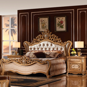 W810 Classic Bed for Home Furniture