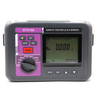 ST4106 Earth Resistance & Resistivity Tester