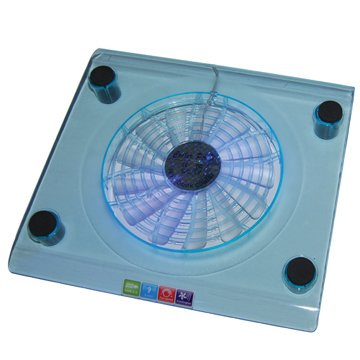 Single Fan Cooling Pad with LED Light Style No. CF-102