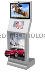 Naked 3D advertising machine