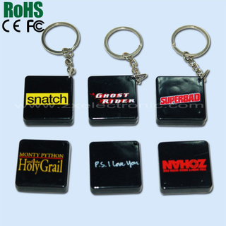 Colorful music keychain for promotion