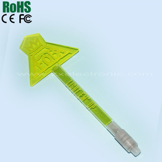 Imperial crown shape led light stick
