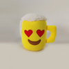 Funny Cute Emoji Small Cup Plush Toy for Gift Decoration