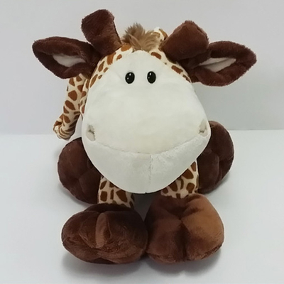 Plush Soft Toy Cartoon Giraffa Handbag for Kids