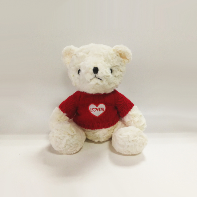 Teddy Bear with Love T Shirt Plush Teddy Bears with Cloth