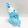 Blue Easter Plush Stuffed Animal Toys Rabbit For Kids