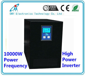 1000W ~10000W inverter 12V 24V48V 96Vdc to 220Vac pure sine wave inverter power frequency power supply