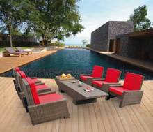 Garden Patio Wicker / Rattan Sofa Set - Outdoor Furniture (LN-2122)