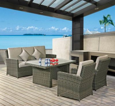 Garden Furniture Home Furniture New Design Outdoor Furniture Sofa Set (LN-2016)