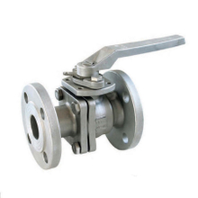 2PC Flange Ball Valve