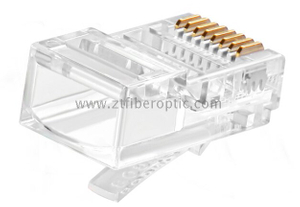 Factory Price UTP/FTP 8P8C RJ45 Cat5e/Cat6 Connector