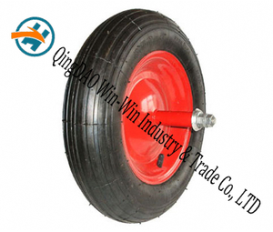 "Pneumatic Rubber Wheel Used on Barrow Wheel (14""X3.50-8)"