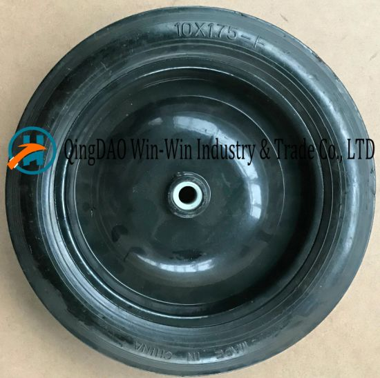 Flat-Free PU Wheel for Hand Trucks Wheel (10*1.75)